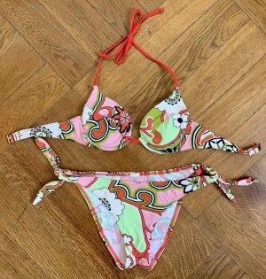 süßer Bikini mit schönem Muster von Jolidon in Gr. 36 75A 75B