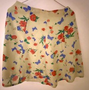 Passport Flared Skirt multicolored