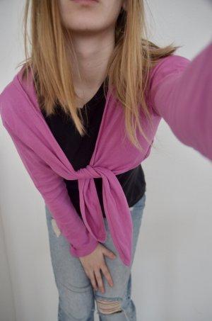 C&A Kopertowa bluzka różowy-różowy neonowy