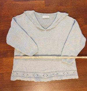 Burton V-Neck Sweater pale green-sage green