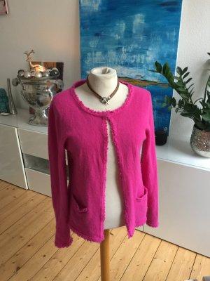 Süsser Cashmere Cardigan von Darling Harbour, pink, Gr L