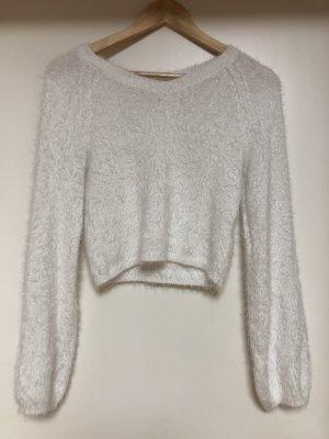 Süßer Crop Hollister Pullover