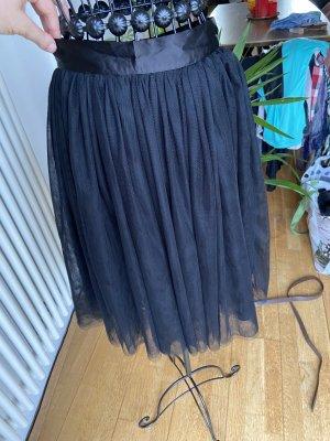 Glamorous Falda globo negro
