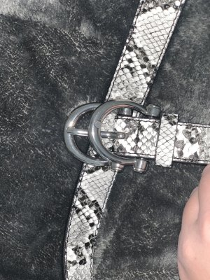 Tally Weijl Waist Belt silver-colored-white