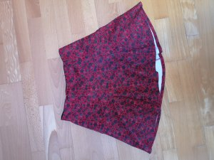 Hollister Jupe taille haute rouge