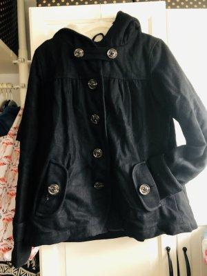 Review Duffle-coat noir coton