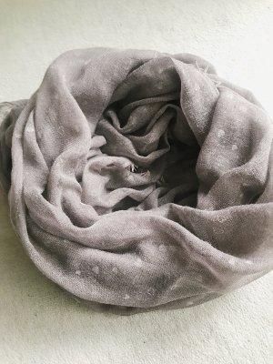 Zara Bufanda tubo gris antracita
