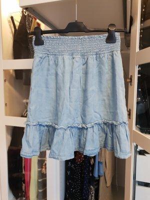 H&M L.O.G.G. Flounce Skirt cornflower blue