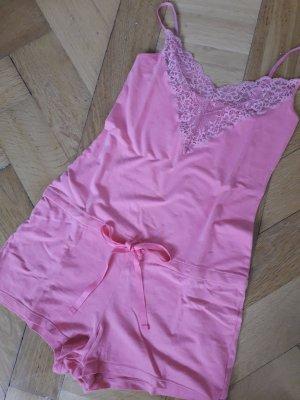Onesie roze Katoen