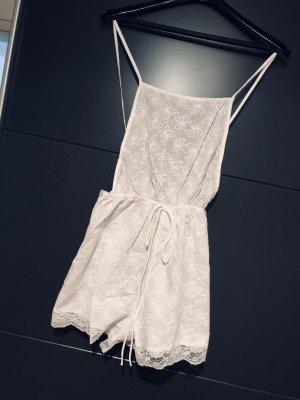 Süßer Jumpsuit in Weiß neu mit Etikett