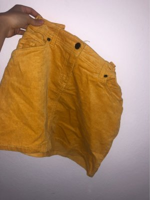 Tchibo / TCM Jupe ballon jaune-orange clair
