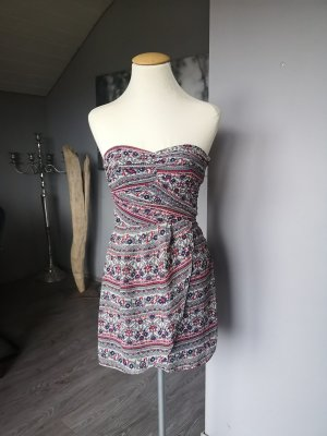 Süßer Minikleid Gr XS Sommerkleid Kleid neuwertig trägerlos