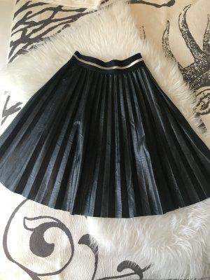 Leren rok zwart Polyester