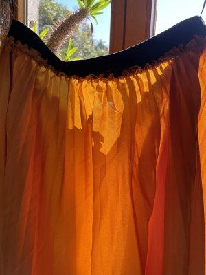 Manguun Pleated Skirt light orange