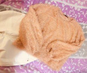 Zara Pullover in pile albicocca