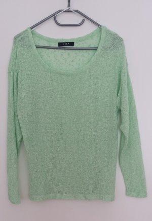 Süßer Pulli Pullover Mint Grün von Vila Größe S wie neu