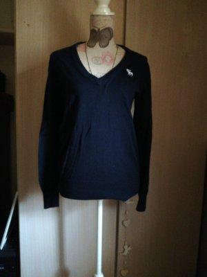 Süsser Pullover Abercrombie and Fitch dunkelblau L 40