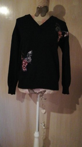 Süsser Pullover schwarz Kolibri Vero Moda Gr. S