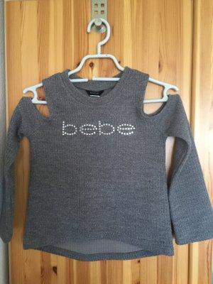 bebe Maglione lavorato a maglia grigio