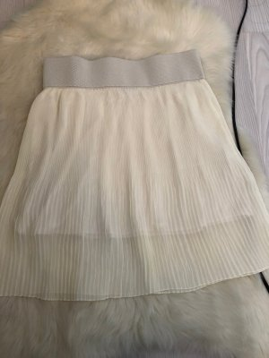 Pleated Skirt cream-natural white