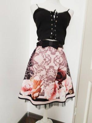 La Rinascimento Flared Skirt multicolored polyester