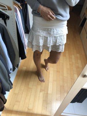 Flounce Skirt white