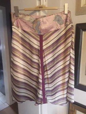 Saint Tropez Rozkloszowana spódnica Wielokolorowy