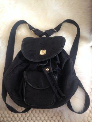 MCM Backpack Trolley black-yellow