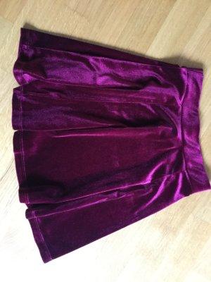 Pimkie Plaid Skirt purple