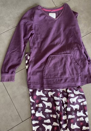 Robe de nuit violet