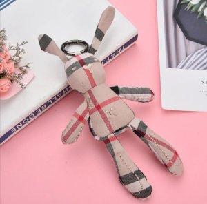 süßer Schlüssel-/Taschenanhänger Hase Osterhase aus Stoff NEU