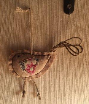 Key Chain beige-dusky pink