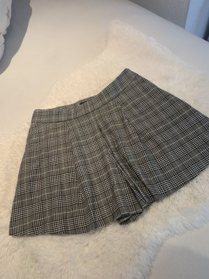 Zara Culotte Skirt grey-white