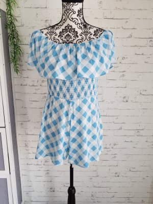 Asos Petite Jumpsuit white-light blue