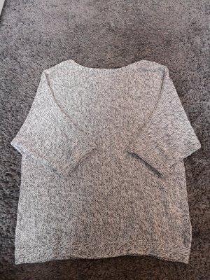 H&M Sweter z dzianiny biały-szary