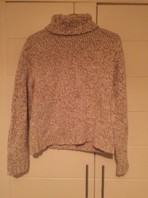 Crochet Sweater white-camel