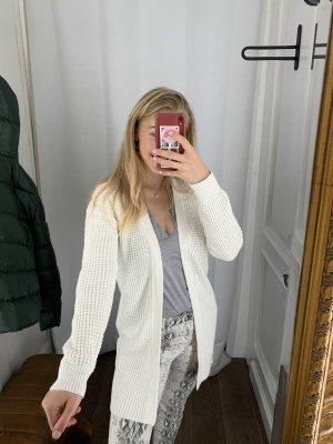 Süßer Wollweißer Strick Cardigan Baumwolle Boutique