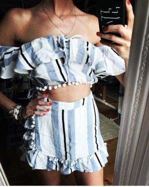 Süßer Zweiteiler Summer Stripes Fashion Vacay