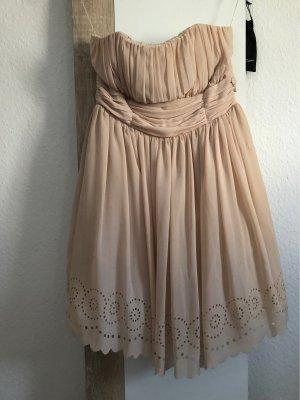 Fornarina Bandeau Dress cream