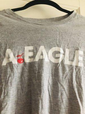 American Eagle Outfitters T-shirt argenté coton