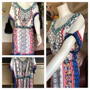Süßes Amisu Sommer Kleid gemustert M