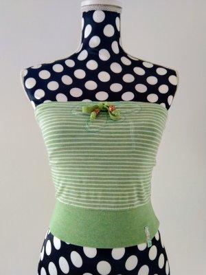 MNG Bandeau Top multicolored