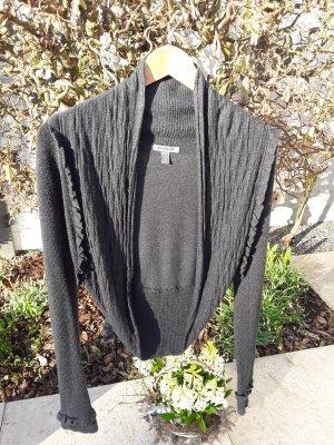 Knitted Bolero taupe viscose
