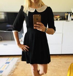 Asos Petite Robe courte noir-blanc