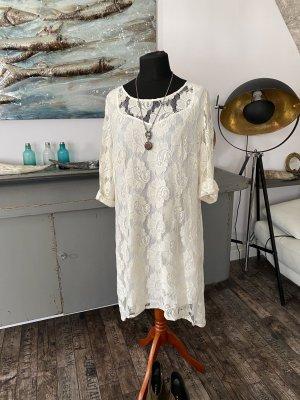 Süßes Cremefarbenes Kleid Gr. XL Heine