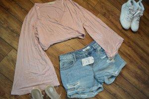 Cropped Shirt light pink