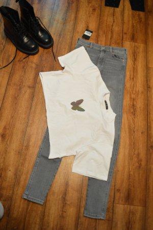 Süßes Cropped T-Shirt von Shein Gr. 38