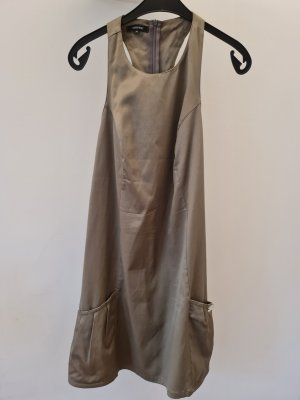 Denny Rose Mini Dress sage green