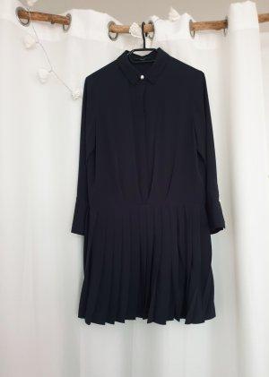 süßes dunkelblaues Hängerchen/Kleid mit Plissee