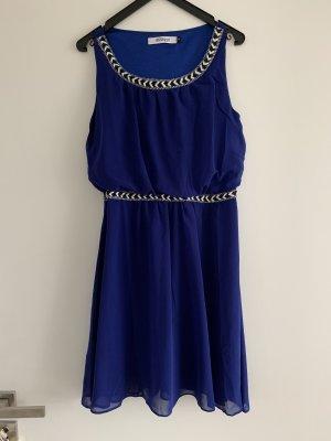 Vestido babydoll azul oscuro-azul